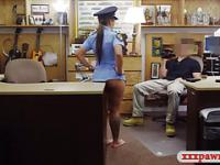 Ms police officer banged at the pawnshop