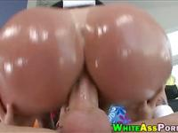 Phat booty whore Tiffany Mynx analyzed