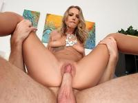 MILF Alina can ride a dick like a pro dick pleaser