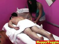 Real thai masseuse spoiling her customer