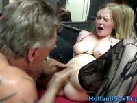 Dutch hooker cummed on