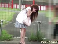 Japanese public pissing