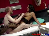 Dutch whore gets slammed