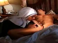Italian Nun Hot Ass Italian Nun Does A Healing Fuc