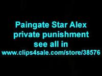 Flexi Muscle Paingate Star Alex Gets Gagged Punish