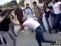 Hardcore Fighting Between Two Sluts