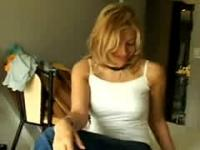 Busty Argentinian Blonde Fucked In Hotel Room