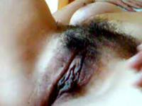 Wifes Hairy Pussy Filmed Close Up