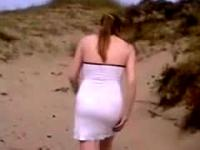 Amateur Anal Sex On The Beach 2044307