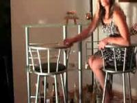 Anal Creampie On Chair With Horny Milf