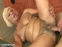 Fat mature whore will be riding on a huge penis