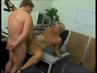 Universal German slut will ride a cock on many places