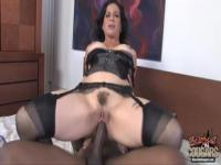 Melissa Monet is new black cock lover MILF
