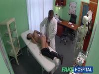 Horny doctor caught on a spy cam