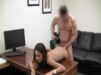 Little Kinley enjoys in pussy drilling