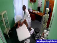 Crazy horny doctor is abusing his patient