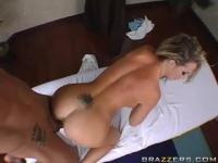 Marco Banderas let's Nikki Benz do her thing