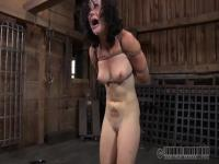Poppy James gets brutally tied up and gagged