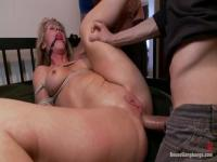 Simone Sonay in anal fucking BDSM action