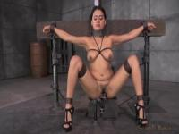 Selma Sins has to play the good slave in order to get please