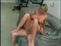 Hot mistress fucked in doggy style at his house