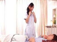 Aino Kishi Japanese nurse shows off her