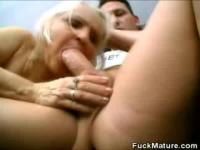 Francesca and Erlene fucking with a young guy