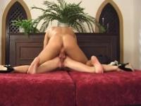 Horny nun gets huge shaft in a church
