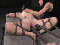Hardcore BDSM scene with Elise Graves and Veruca James
