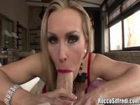 Only a cock can saitsfy this blond MILF