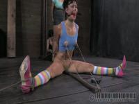 Sweet chick gets tortured and electrocuted.