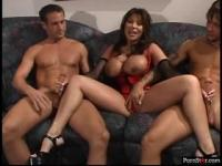 Hardcore Ava Devine loves to get double penetrated