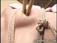 Japanese girl is tied up and tortured by her master