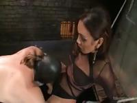 Hot latina with a hard cock going anal