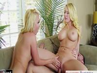 Blondes Aaliyah Love and Kagney Linn Karter share