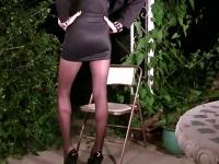 Shemale vannessa in pantyhose 1