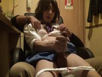 Huge Japanese Crossdress Cock Jerkoff