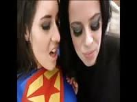 Superwoman and the kryptonite dildo