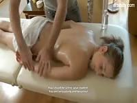 Sensual massage before sex