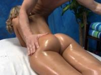 Wench with a round butt receives an deep vaginal massage