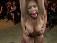 Dirty slut used as a sex toy in the BDSM porn video