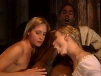 Mandingo  and  two Golden-Haired Sisters
