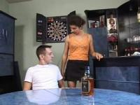 Hawt bar room fuk and anal