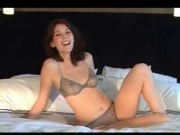 Teen slut is happy to talk about sex