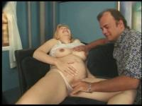 Hawt Pregnant Krista Receives Her Preggo Twat Drilled