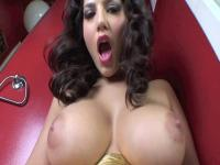 Sunny Leone wet with toys