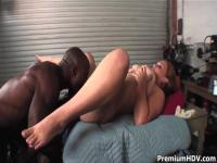 Big ass Vannah Sterling takes on black monster cock