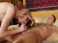 Avril Hall rides big cock of Kurt Lockwood