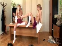 Weendy White and Yasmine Gold get naughty