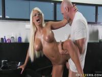 Johnny Sin's thick fucking rod is driving Jacky Joy crazy
